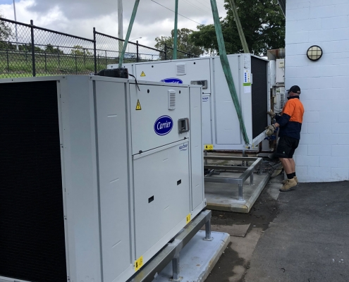 Commercial Air Conditioning Replacement in Brisbane